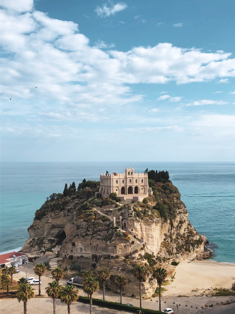 Sanctuary of Holy Mary Tropea, Italy